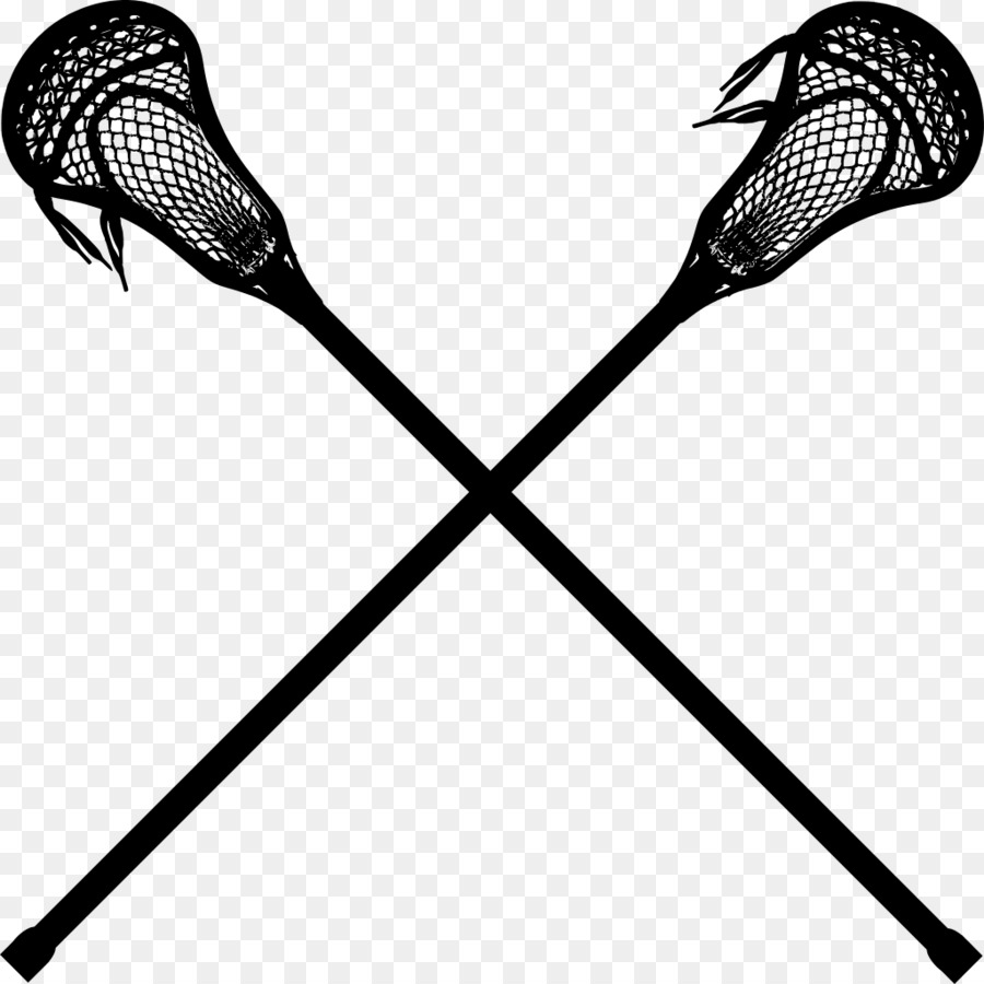 Lacrosse sticks women clipart clip art black and white Lacrosse Stick Background png download - 1024*1024 - Free ... clip art black and white