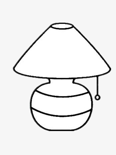 White lamp clipart png transparent stock Lamp black and white clipart 4 » Clipart Station png transparent stock