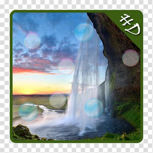 White land blue water earth images clipart jpg library download Seljalandsfoss High Force Kuang Si Falls Erawan waterfall ... jpg library download