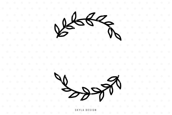 Clipart to svg png transparent stock Leaves clipart, Leaves Svg, Wreath svg cut file, Flourish ... png transparent stock