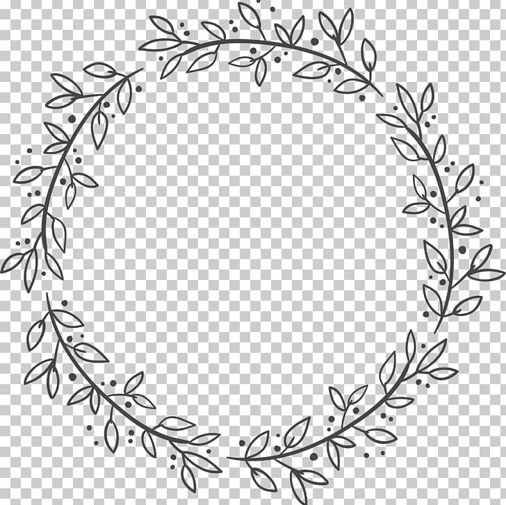 White leaf wreath clipart clipart royalty free library Euclidean Leaf Wreath Flower PNG, Clipart, Black And Wh ... clipart royalty free library