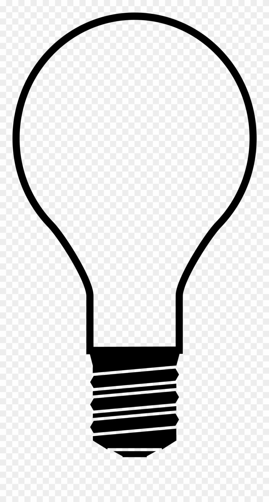 White lightbulb clipart clip royalty free library Christmas Light Bulb Transparent Stock Black And White ... clip royalty free library