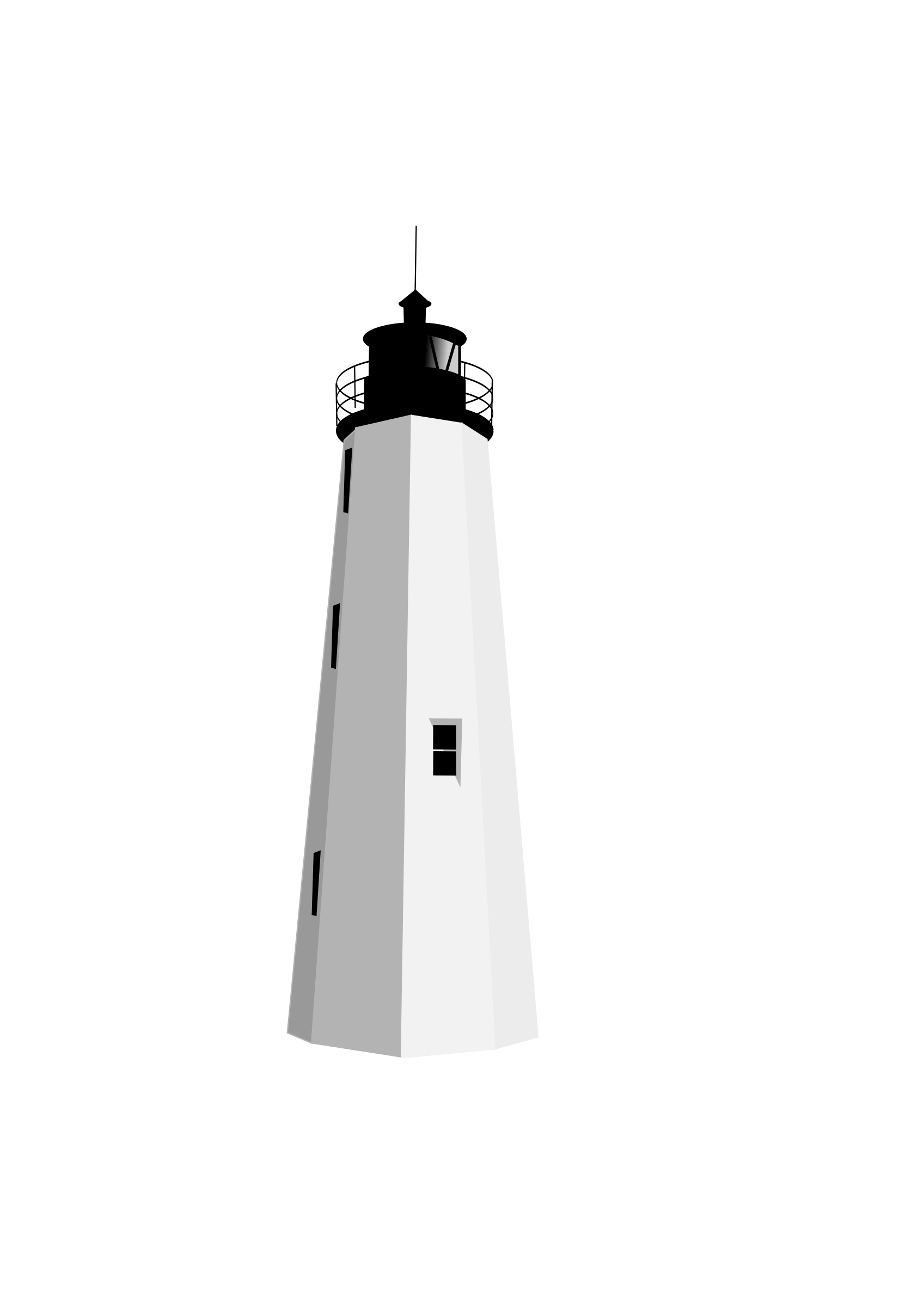White lighthouse images clipart svg free download Black White Lighthouse Clipart transparent PNG - StickPNG svg free download