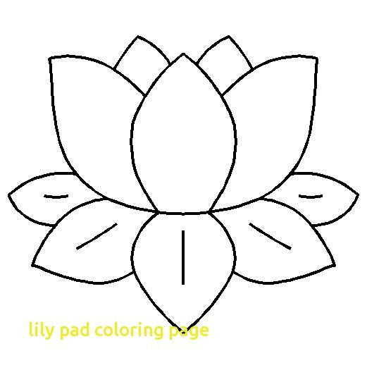 White lily pads clipart clip art freeuse Lily pad coloring page with Lily Pad clipart black and white ... clip art freeuse