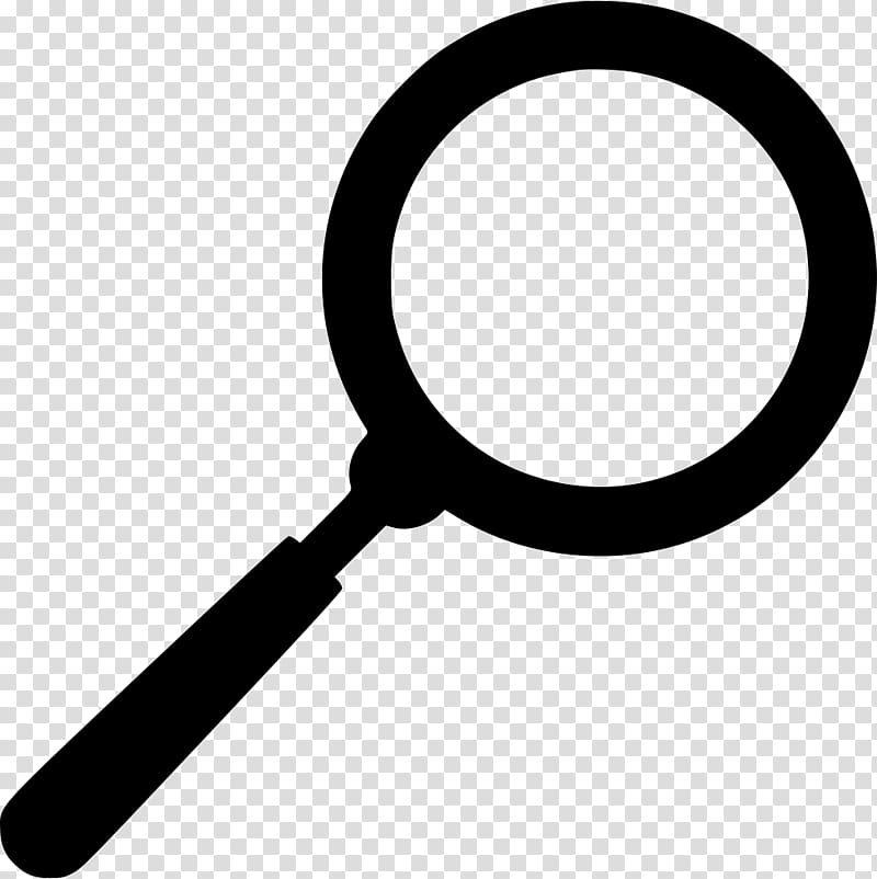 White magnifying glass icon clipart graphic black and white library Magnifying glass Computer Icons, magnifying transparent ... graphic black and white library