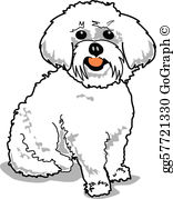 White maltese dog clipart graphic free download Maltese Dog Clip Art - Royalty Free - GoGraph graphic free download