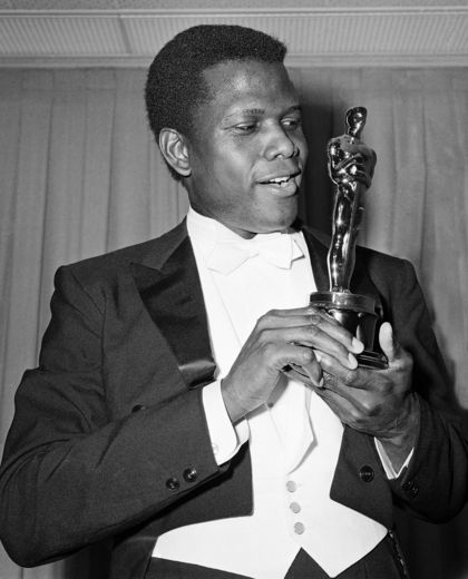 White man black woman clipart image free library Black Oscar Winners Through the Years image free library