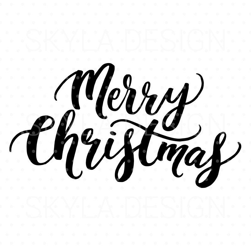 Merry christmas clipart file image transparent Merry Christmas SVG, Christmas SVG file, Christmas clipart ... image transparent