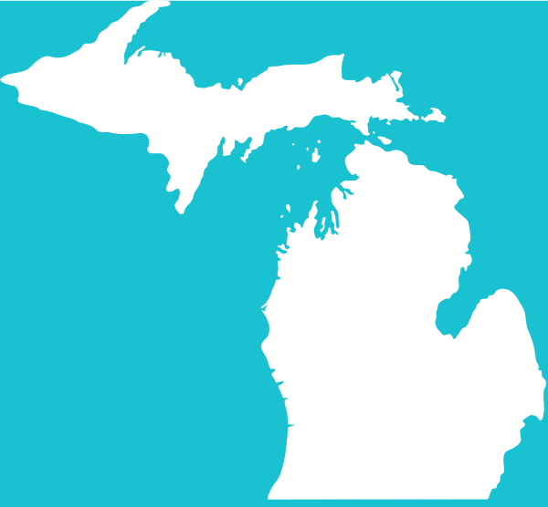 White michigan clipart clipart royalty free stock White Michigan On Teal Clip Art at Clker.com - vector clip ... clipart royalty free stock