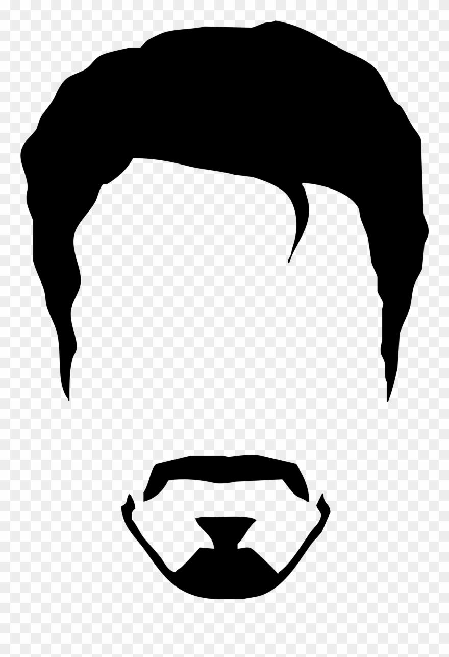 Men hair clipart freeuse Elvis Clipart Minimalist - Man Hair Vector Png Transparent ... freeuse