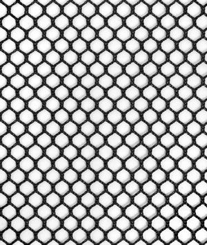 White netting material clipart svg black and white stock 7mm Polyester Hex Mesh - Black | wish | Mesh fabric, Black ... svg black and white stock