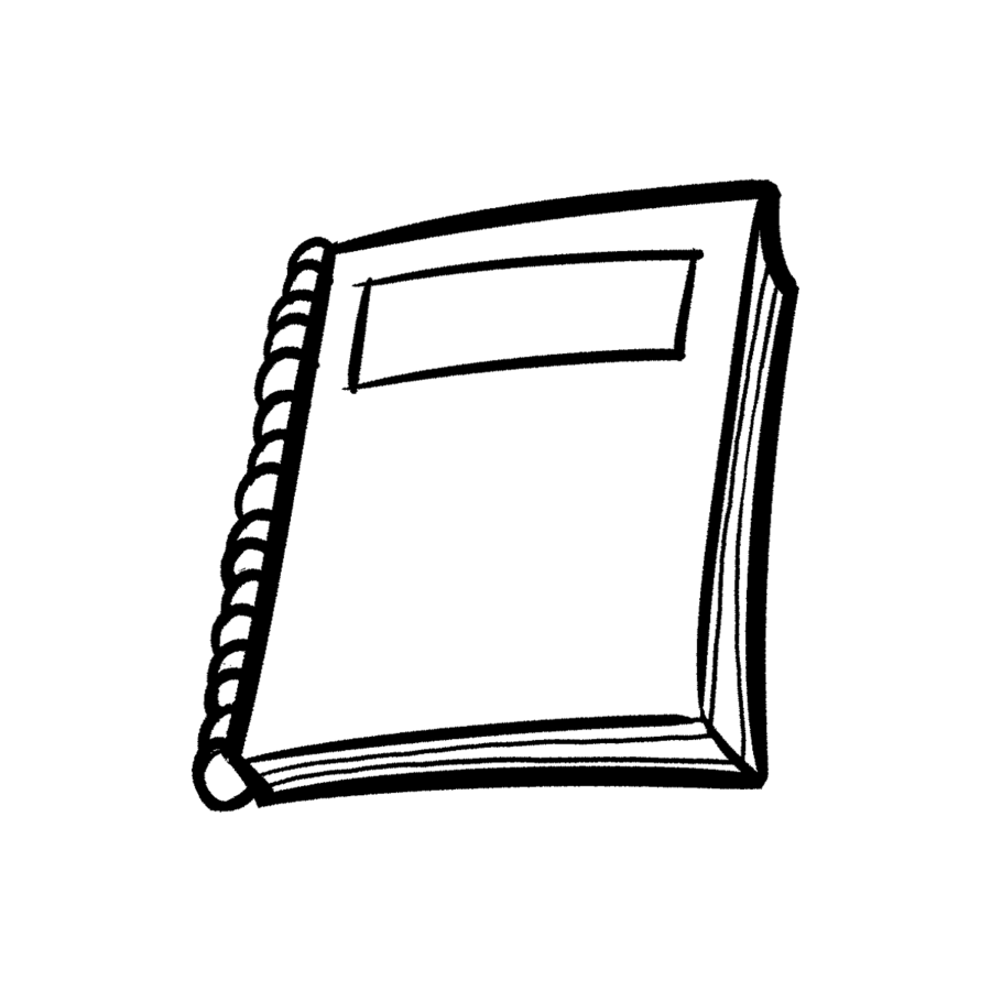 White notebook clipart free library Black Line Background clipart - Notebook, White, Black ... free library