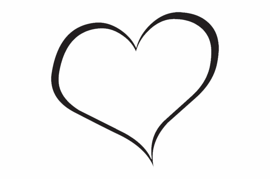White outline heart clipart free clipart royalty free download Red Heart Clipart - Heart Clipart Black And White Free PNG ... clipart royalty free download