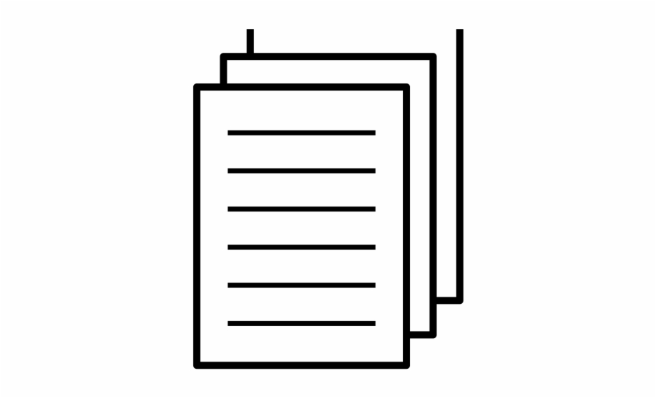 White paper clipart freeuse stock Icons Clipart Paper - White Paper Icon Png, Transparent Png ... freeuse stock