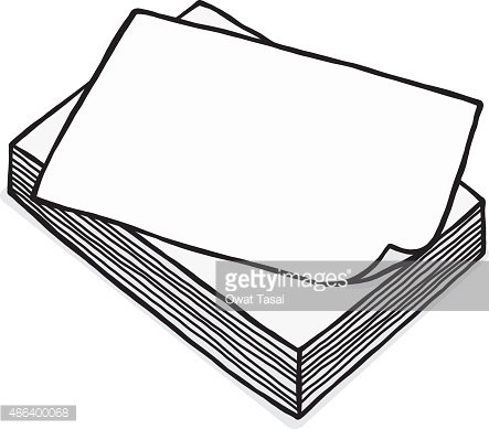 White paper clipart clipart free stock Pile of White Paper premium clipart - ClipartLogo.com clipart free stock