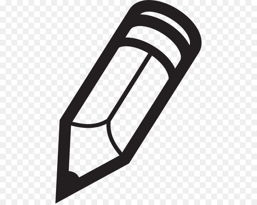 White pencil clipart transparent svg black and white download Black And White Pencil Png & Free Black And White Pencil.png ... svg black and white download