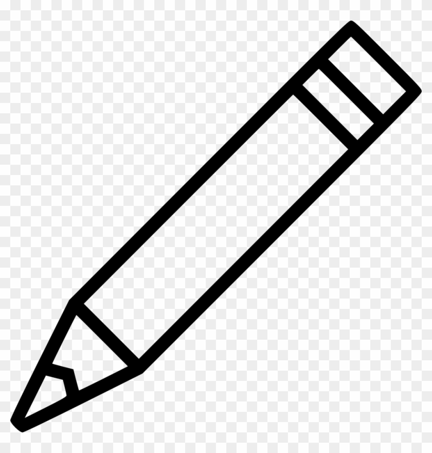 White pencil clipart transparent picture library stock Pencil Underline Png - Outline Images Of Pencil, Transparent ... picture library stock
