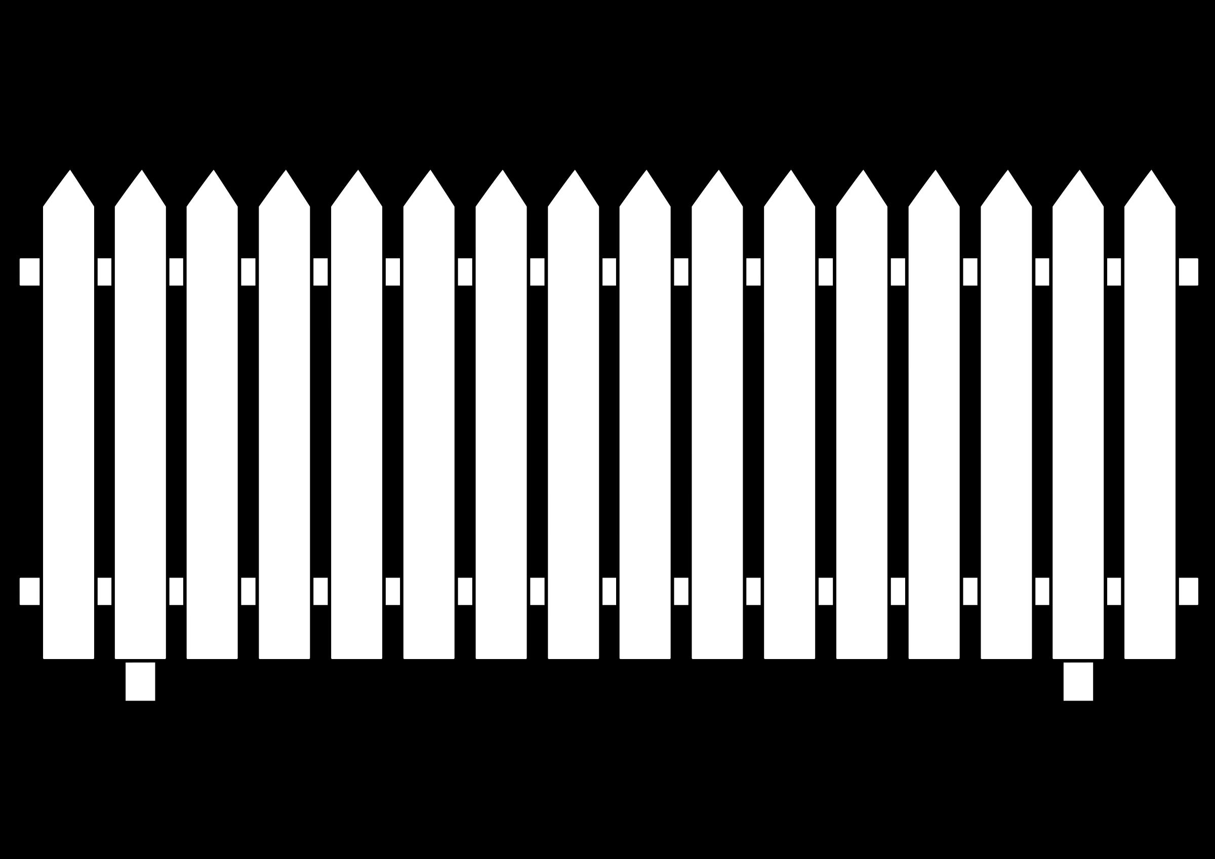 White picket fence house clipart jpg transparent download 28+ Collection of White Picket Fence Clipart | High quality, free ... jpg transparent download