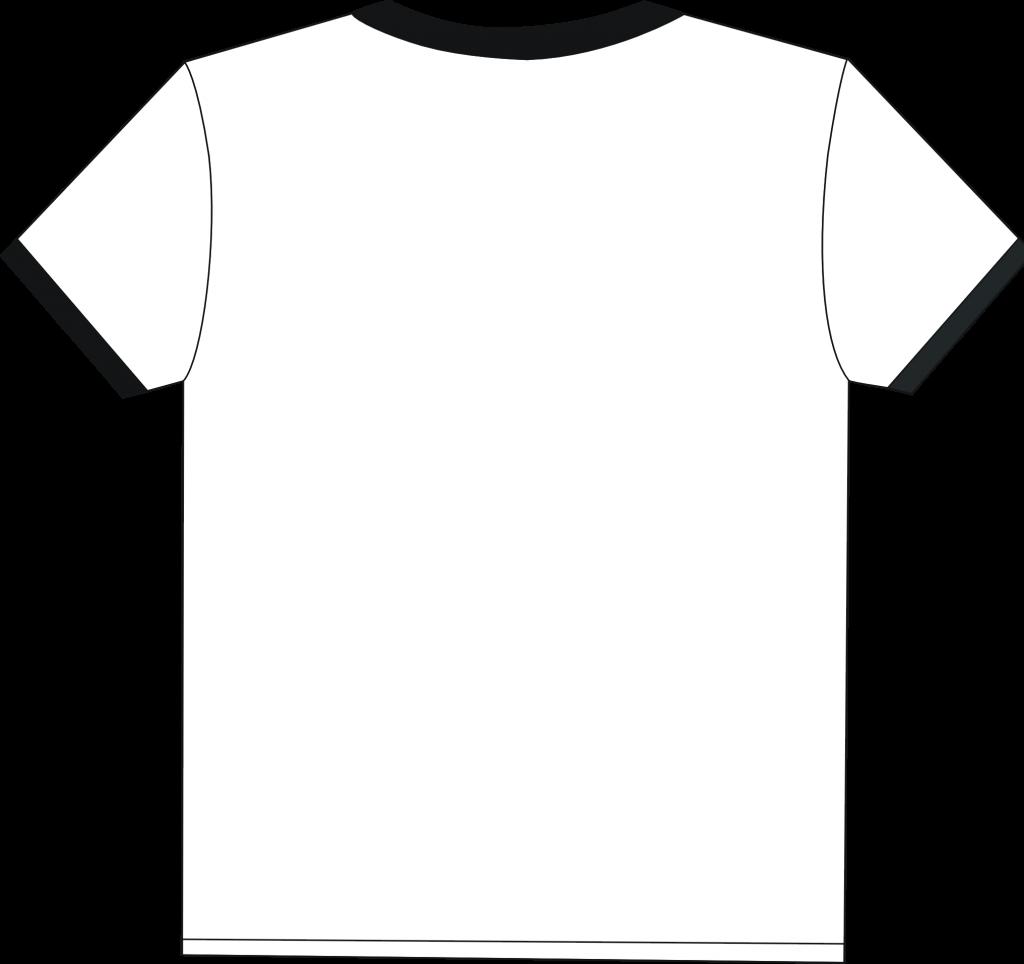White plain shirt clipart clipart black and white Plain T Shirt-white - ClipArt Best - Cliparts.co clipart black and white