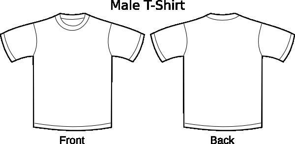 White plain shirt clipart banner free stock Plain T-shirts Clip Art at Clker.com - vector clip art ... banner free stock