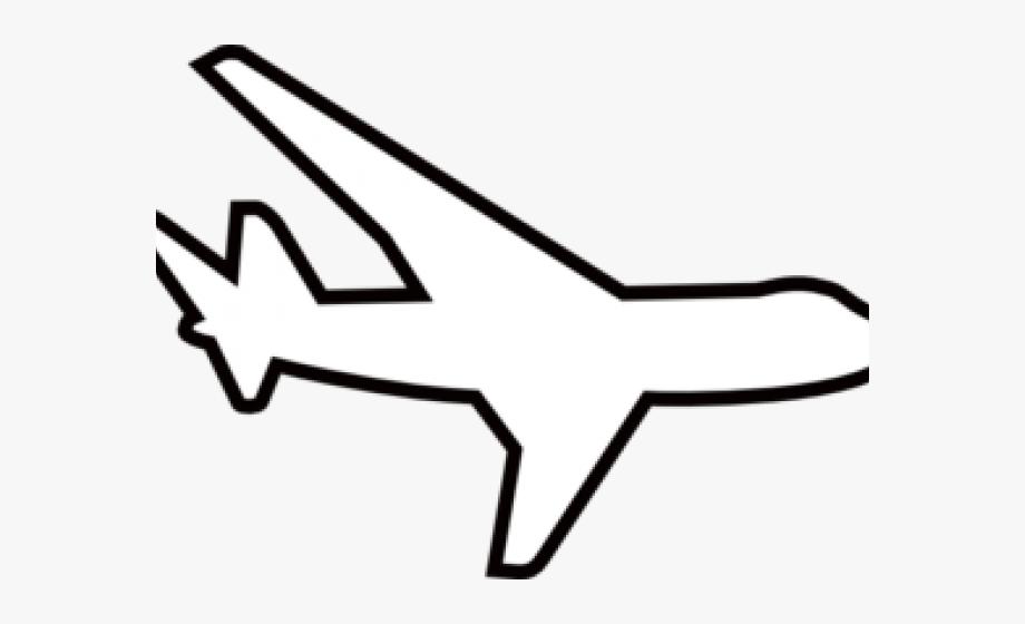 White plane clipart image transparent Plane Clipart Black And White - White Airplane Clip Art ... image transparent