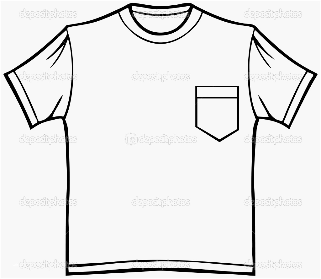 White pocket t shirt clipart clip library Collection of Shirt design clipart | Free download best ... clip library