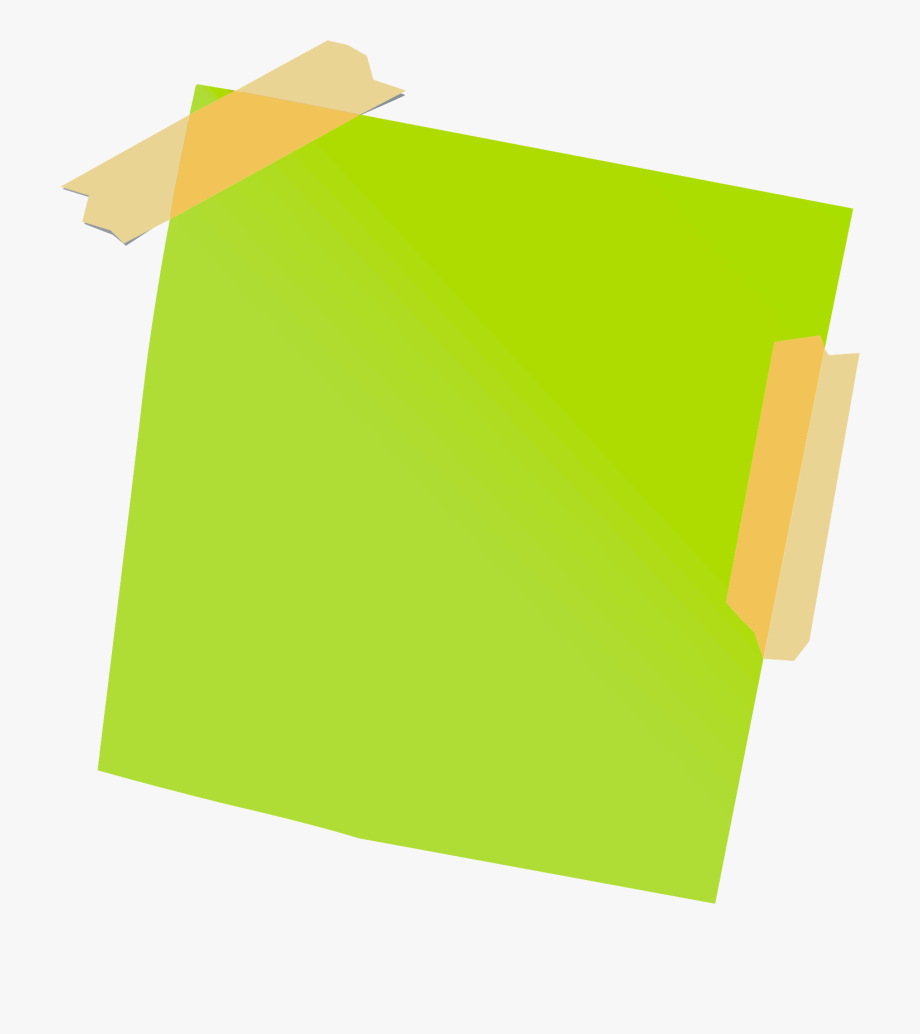 Library Of White Post It Notes With Tape Png Royalty Free