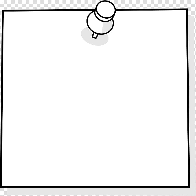 White post it notes with tape clipart image transparent download White sticky note illustration, Post-it note Paper Drawing ... image transparent download