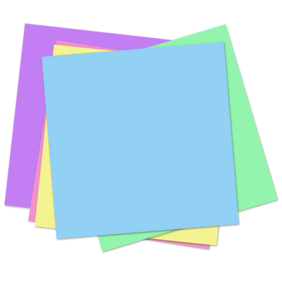 White post it notes with tape clipart vector freeuse Sticky Notes transparent PNG images - StickPNG vector freeuse