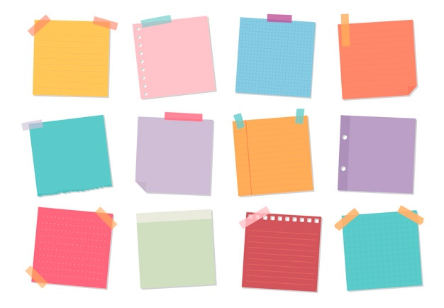 White post it notes with tape clipart clip art free stock Sticky Notes Vectors, Photos and PSD files   Free Download clip art free stock