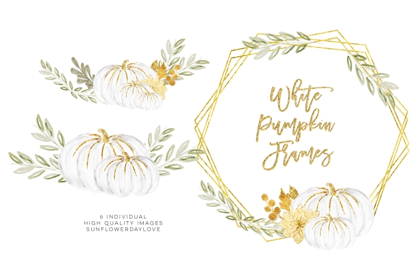 White pumpkin floral clipart jpg free download Shop - Vsual jpg free download