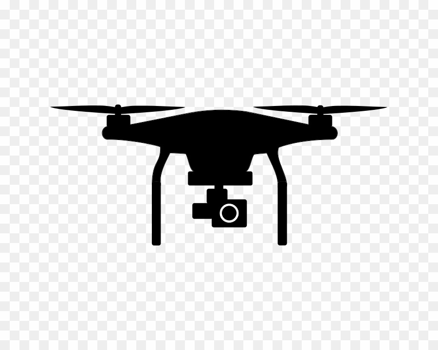 White quadcopter clipart clipart freeuse library Phantom Drone PNG Unmanned Aerial Vehicle Dji Clipart ... clipart freeuse library