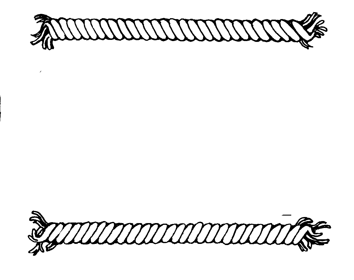 White rope clipart picture free library Rope clipart black and white 6 » Clipart Station picture free library
