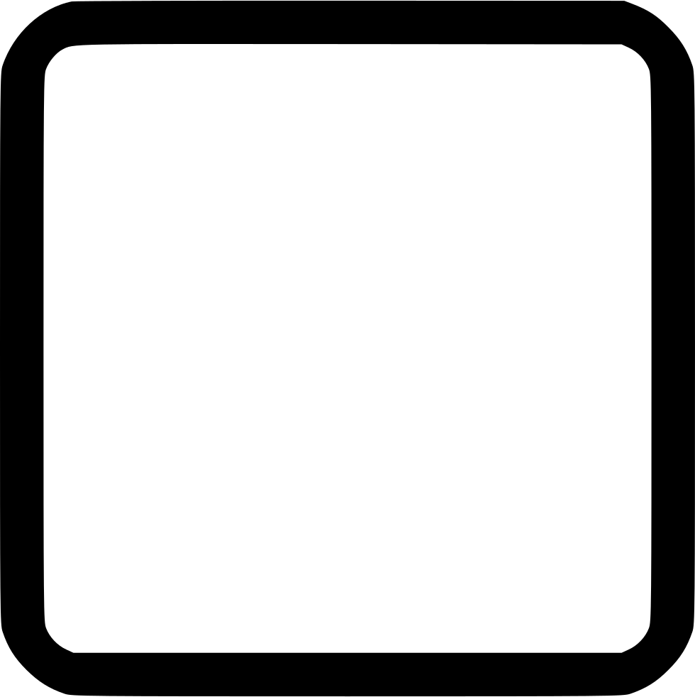 White round square clipart clipart library library Round Rectangle Png , (+) Pictures - trzcacak.rs clipart library library