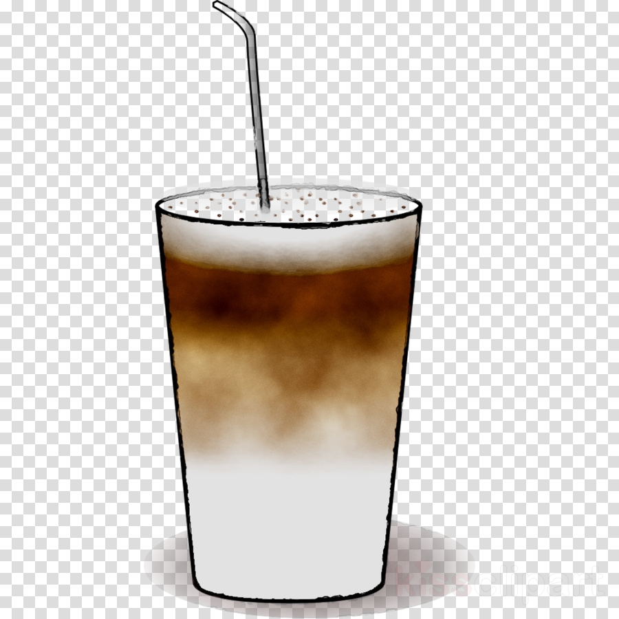 White russians clipart vector download Iced Coffee clipart - Coffee, Drink, Glass, transparent clip art vector download