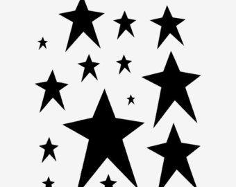 White rustic stars clipart picture freeuse Pix For > Star Stencil Designs; Clip Art Stencils ... picture freeuse