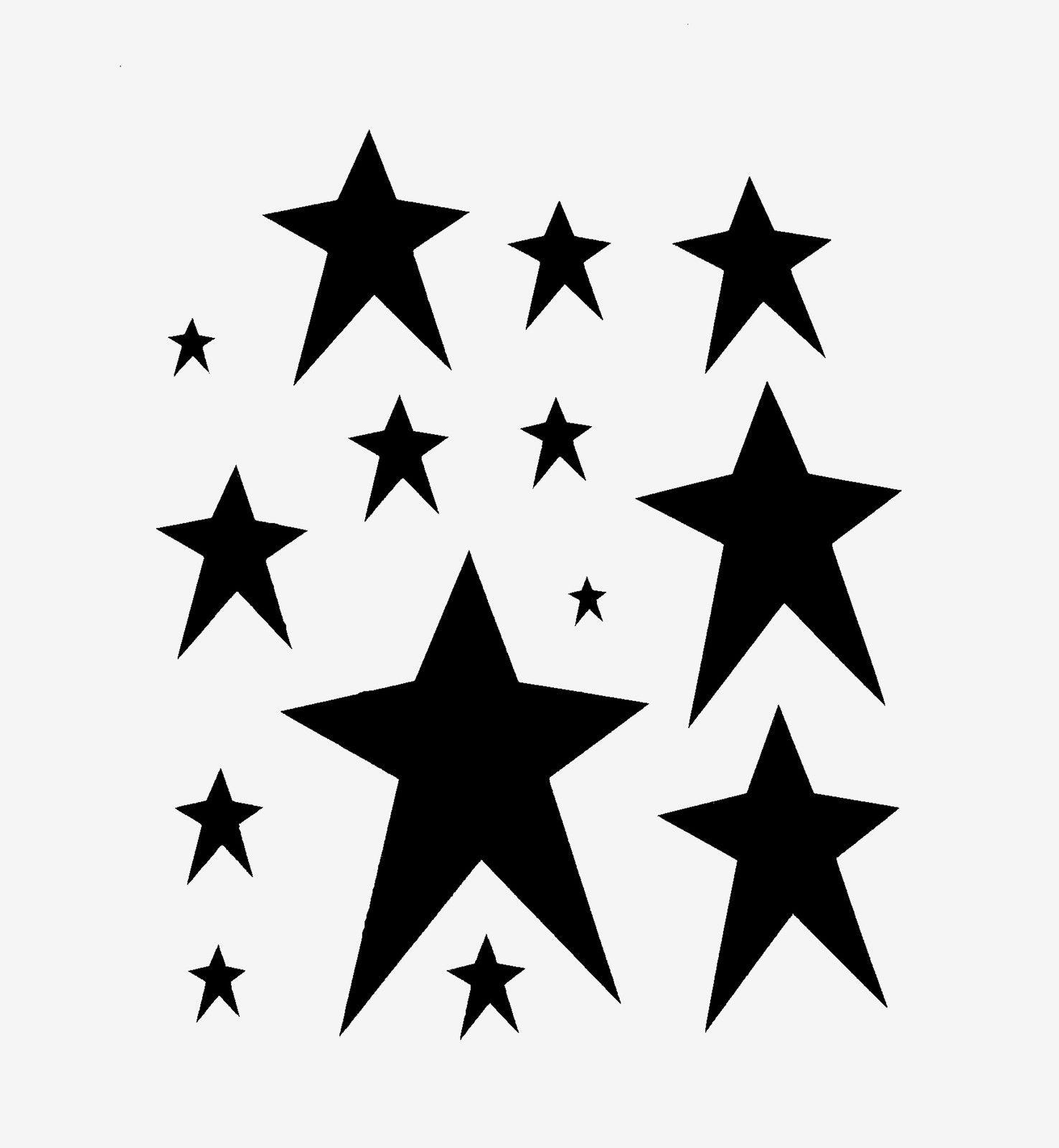 White rustic stars clipart jpg transparent stock PRIMITIVE STAR STENCIL MANY STARS STENCILS CELESTIAL CRAFT ... jpg transparent stock