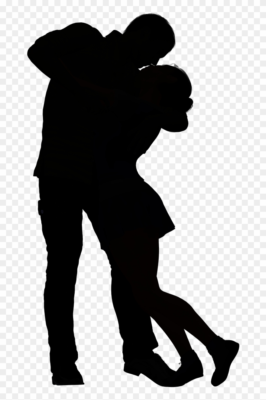 White shadow clipart jpg library library Black And White Shadow Couple Clipart (#879469) - PinClipart jpg library library