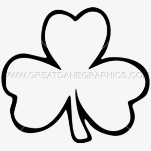 White shamrock clipart picture royalty free download Free Shamrock Clipart Black And White Cliparts, Silhouettes ... picture royalty free download