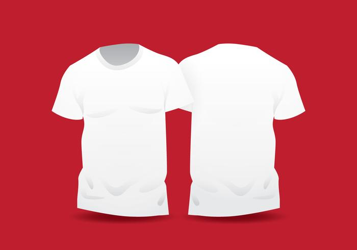 White shirt template clipart clip black and white Realistic White Blank T Shirt Template - Download Free ... clip black and white