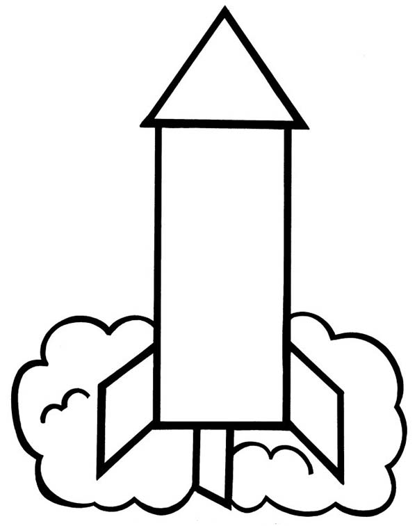 White simple rocket clipart jpg stock simple rocket picture to color: simple-rocket-picture-to ... jpg stock