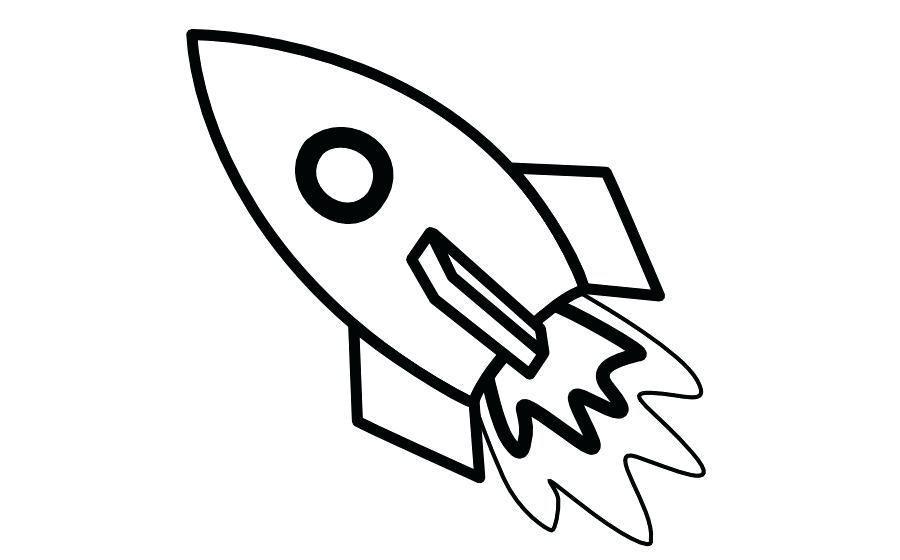 White simple rocket clipart graphic black and white download rocket drawing – edenolur.co graphic black and white download
