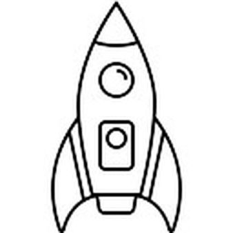 White simple rocket clipart png transparent stock Simple Rocket Ship Clipart Black And White new transport ... png transparent stock