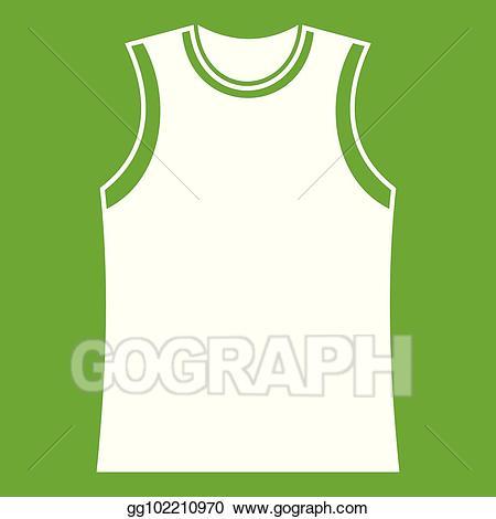 White singlet clipart clip transparent EPS Vector - Singlet icon green. Stock Clipart Illustration ... clip transparent