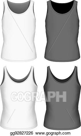 White singlet clipart png free stock Clip Art Vector - Singlet for boys vector illustration ... png free stock