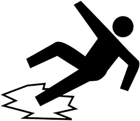 White slip clipart banner free download slip-fall | CoreTrans banner free download