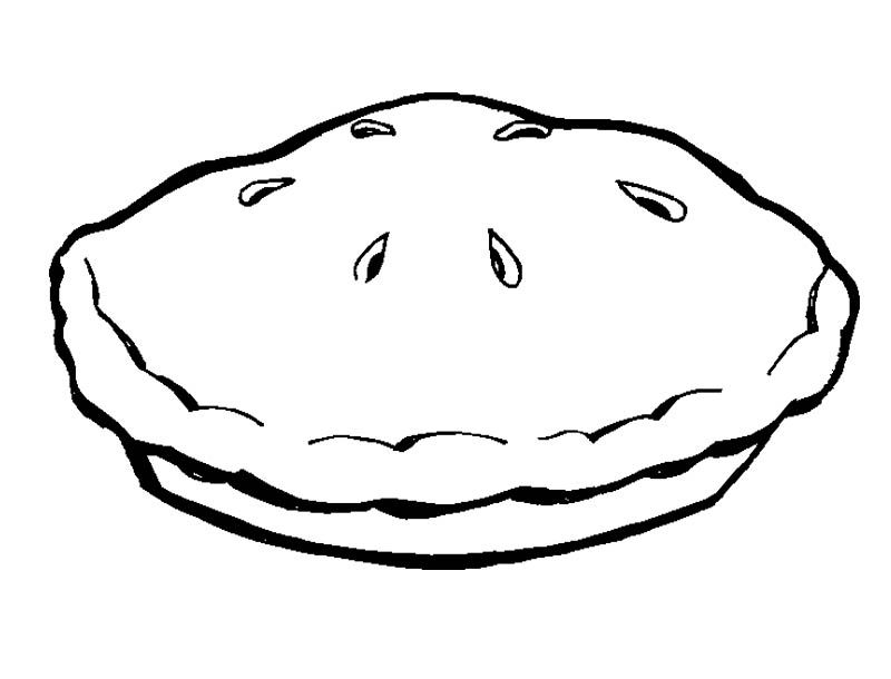 White snake cherry pie clipart image freeuse download Clipart resolution 800*610 - pie coloring pages clipart ... image freeuse download
