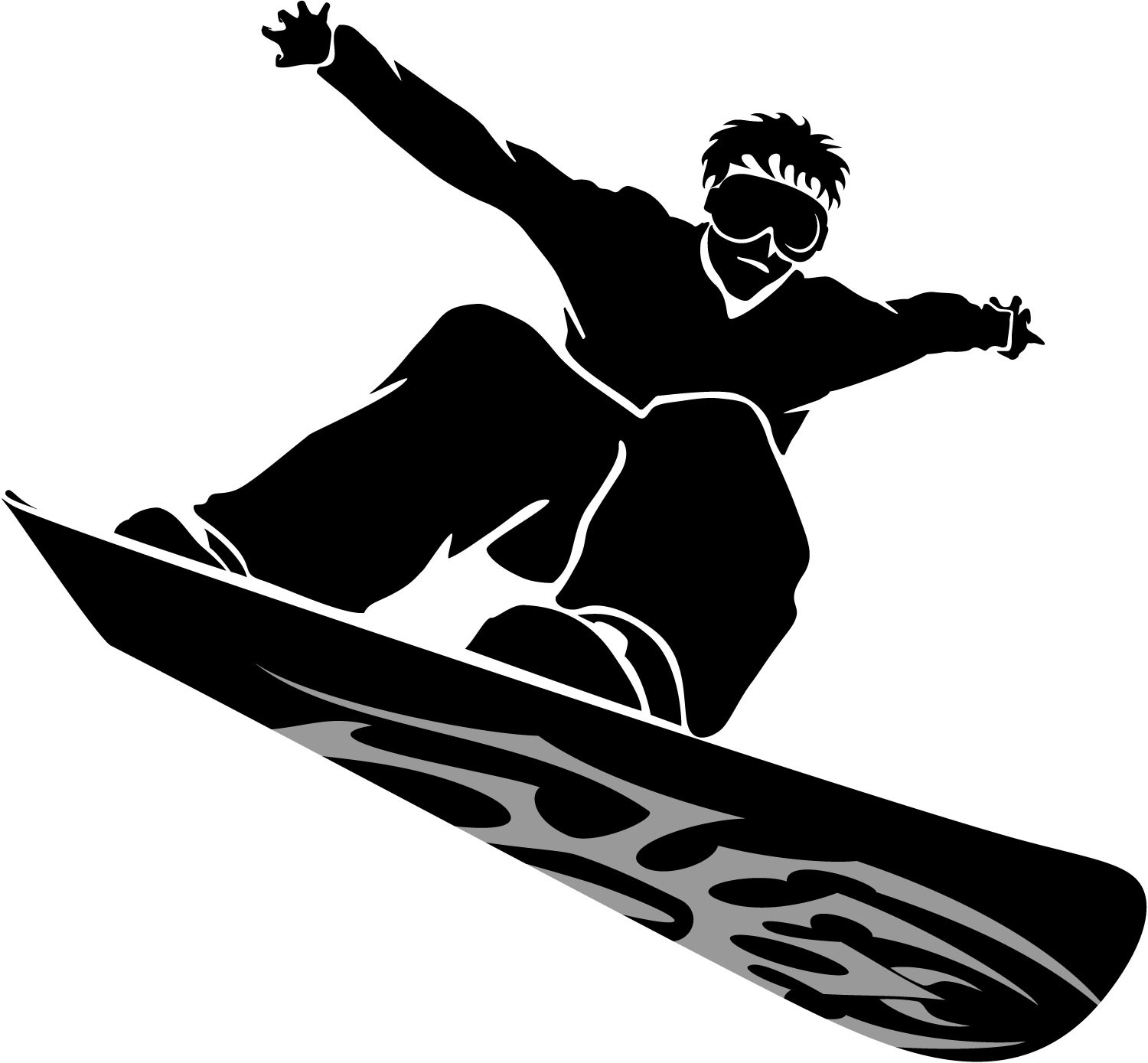 White snowboard clipart image free stock Snowboard Clipart | salaharness.org image free stock