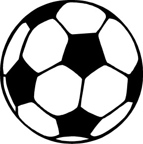 White soccer ball clipart graphic black and white library Soccer Ball Clip Art Black And White | Clipart Panda - Free ... graphic black and white library