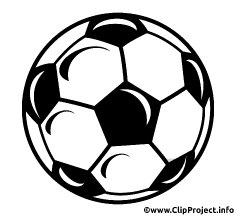 White soccer ball clipart image royalty free download White soccer ball clipart - dbclipart.com image royalty free download